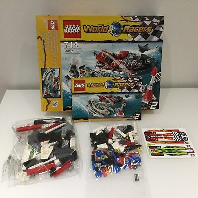 Lego 8897 World Racers Jagged Jaws Reef Contents New