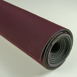 81-88 Monte Carlo Chevrolet  Headliner Foam Backed Fabric Claret Red SB1666