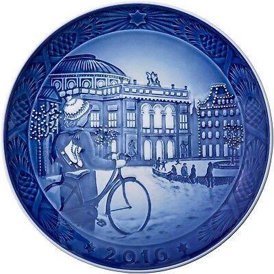 2016 Royal Copenhagen RC Christmas Plate  New in Box   Free Ship