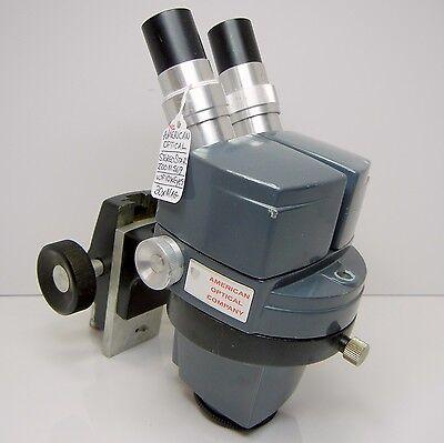 American Optical 569 Stereo Zoom Microscope Focus Holder 10xwf Eyes 30x Mag 192