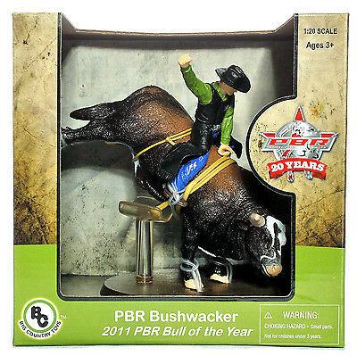 Big Country Toys PBR Bushwacker 2011 Bull of the Year #408 Rodeo Animal Figurine](Toys Of The Year)
