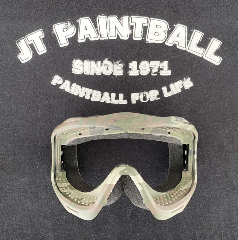 NEW JT Proflex Camo Camouflage Frame With Foam See Photos Paintball Mask Goggle