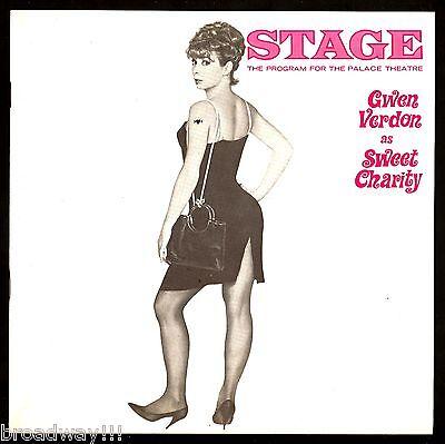 "Gwen Verdon ""SWEET CHARITY"" Ruth Buzzi / Cy Coleman / Bob Fosse 1966 Program"