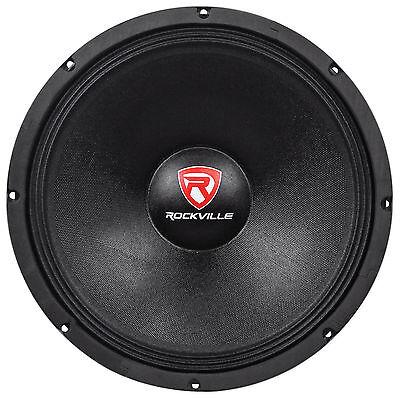 """Rockville RVW1500P8 1500w 15"""" Raw DJ Subwoofer 8 Ohm Sub"""