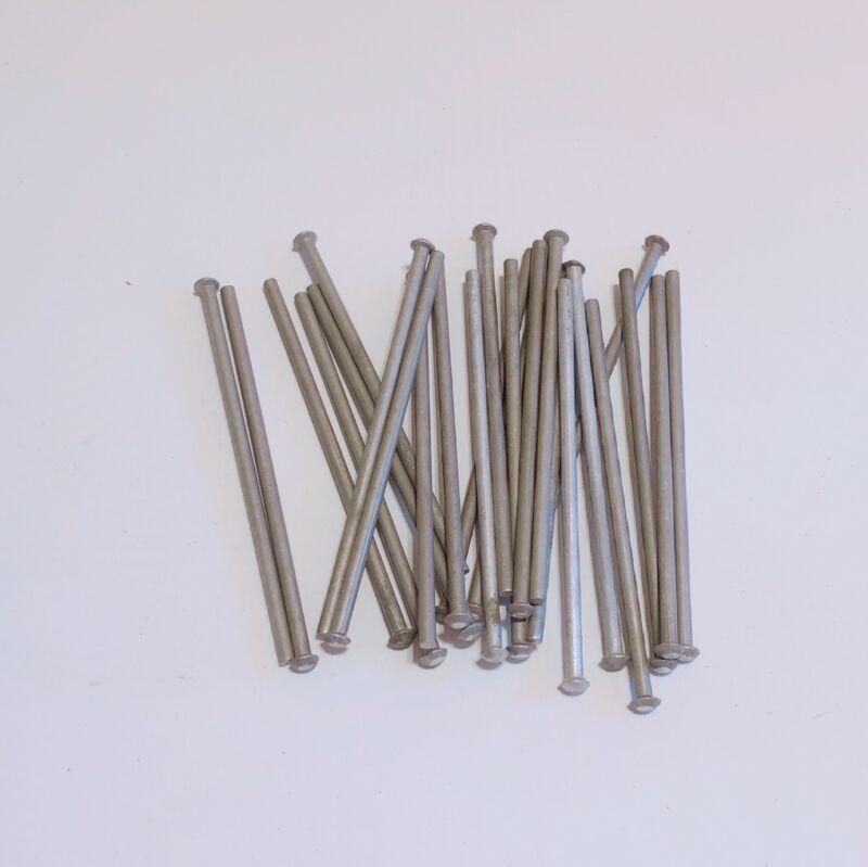 NOS 3/16 X 5-1/16 Solid Aluminum Rivets, Pack of 25, Aircraft, Blacksmith, Boat
