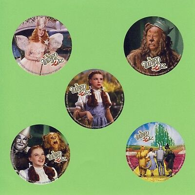 10 The Wizard of Oz Large Stickers - Dorothy, Tin Man, Cowardly Lion, Scarecrow