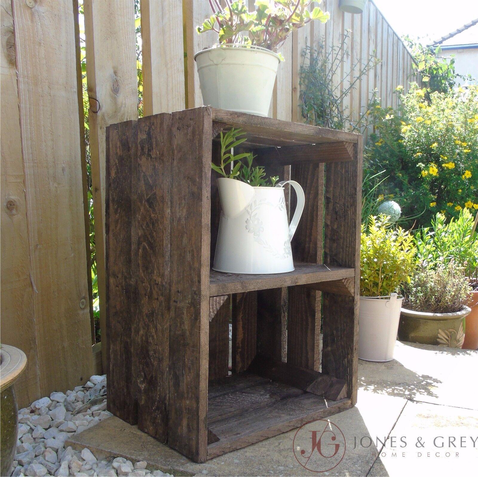 Vintage Apple Crate Fruit Crates Bushel Box Wooden Garden
