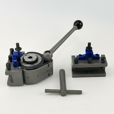 A1 Multifix 40 Position Tool Post And 2pcs Ad2080 Turning Tool Holder Multifix A