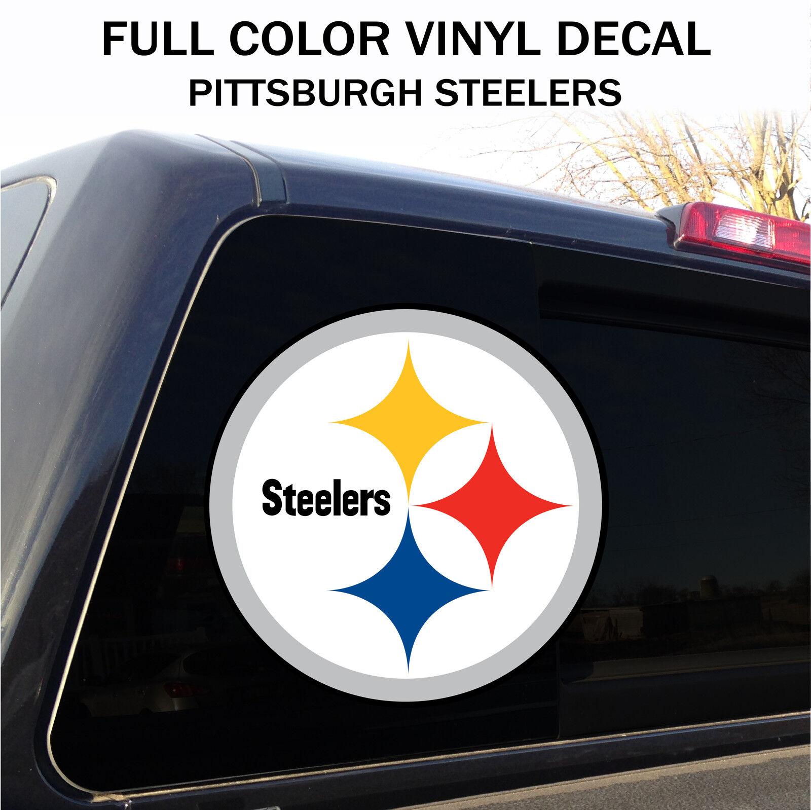 Pittsburgh Steelers  DECAL STICKER CAR TRUCK WINDOW WALL