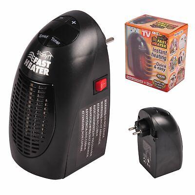 Mini Heater Calefactor Calentador Eléctrico Pared Enchufe Radiador