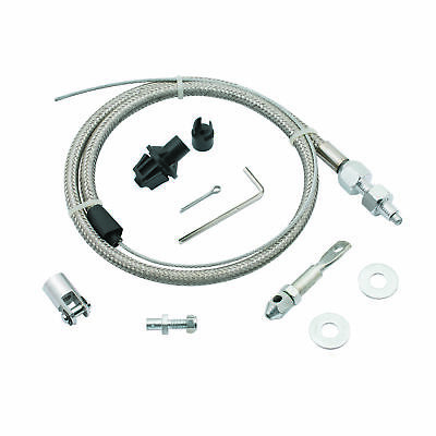 Mr. Gasket 5657 Throttle Cable Kit - Stainless Steel Braided
