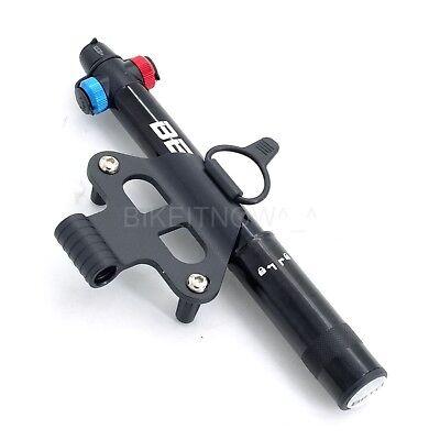 BETO QikFill Supreme Bike Bicycle CO2 Nozzle and Mini Hand Combo Pump 80g