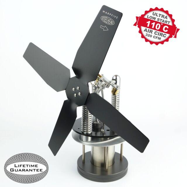 Stove Fan Heat Powered Stirling Engine Wood Burner