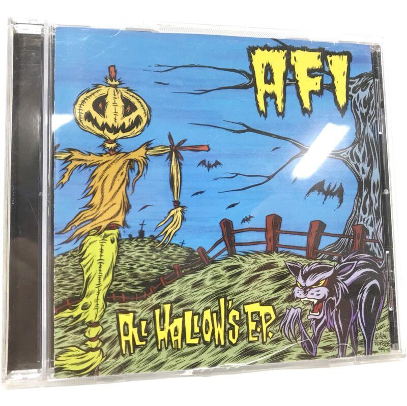 AFI - All Hallow's E.P. CD not Vinyl Original 1999 NITRO Release RARE Misfits EX