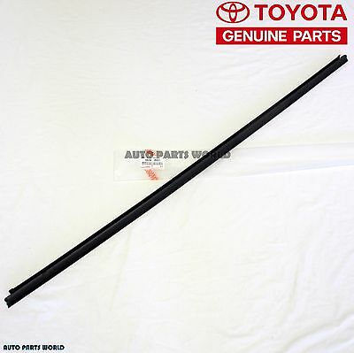 GENUINE TOYOTA 03-09 4RUNNER OUTER BACKDOOR DOOR GLASS WEATHERSTRIP 68290-35031 for sale  Ann Arbor