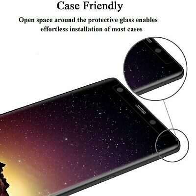 Privacy Screen protector Tempered Glass For Samsung Galaxy S8 S9 Plus / Note 8 9 Cell Phone Accessories