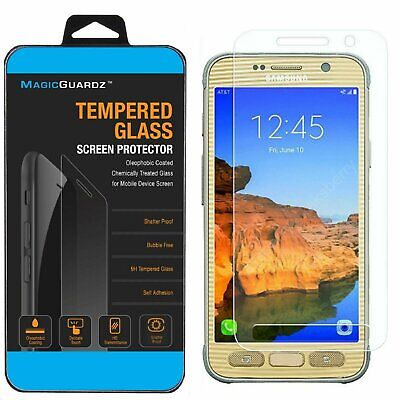Premium Tempered Glass Screen Protector Guard for Samsung Galaxy S7 Active Cell Phone Accessories