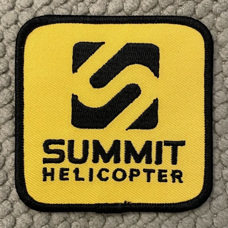 """Summit Helicopter Patch 3"""" Sample"""