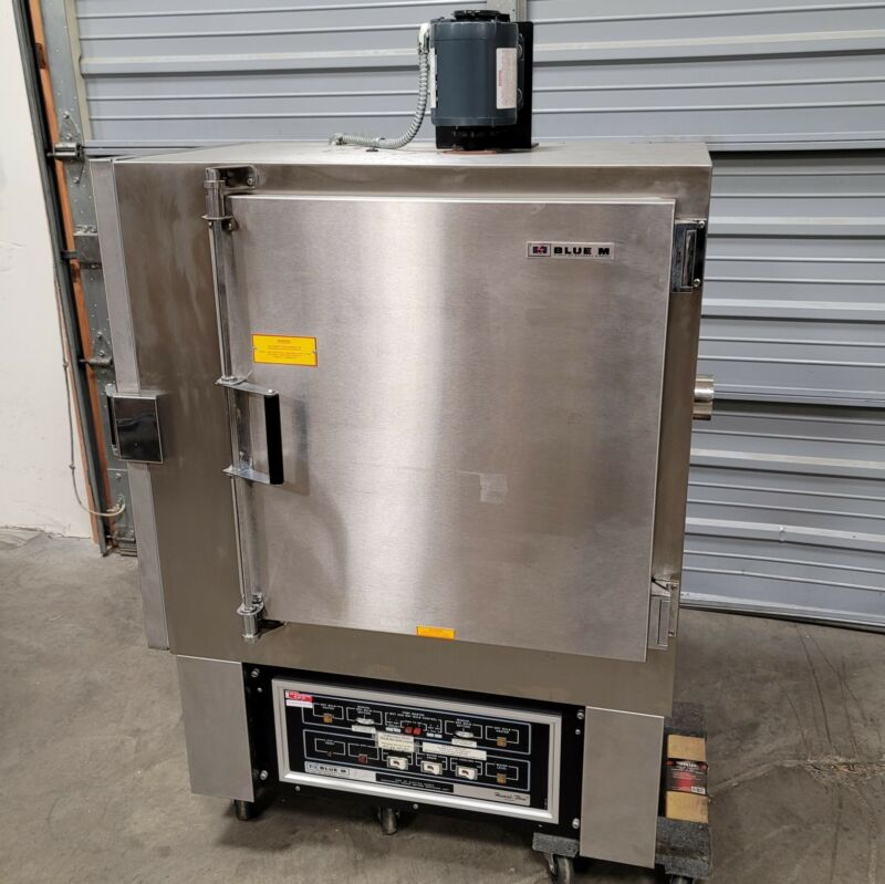 Blue M AC-7502A-2 Humidi-Flow Air-Cooled Temperature/Humidity Cabinet 120VAC 20A