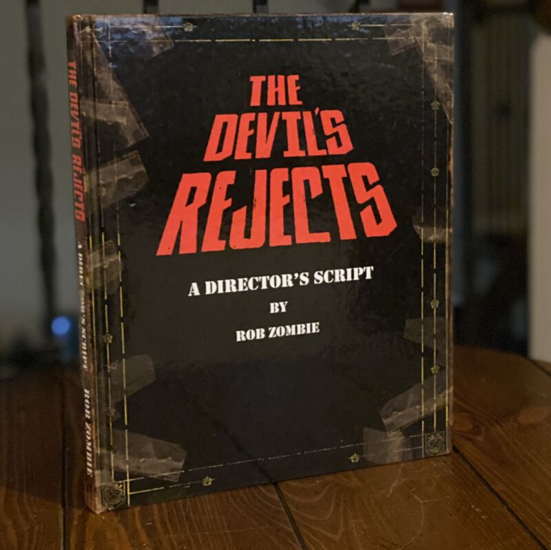 NECA The Devil's Rejects A DIRECTOR'S SCRIPT By Rob Zombie Book Limited Edition