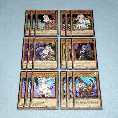 Yugioh Duel Devastator Ghost Girl 18 Card Set Ash Blossom and Joyous Spring Ogre