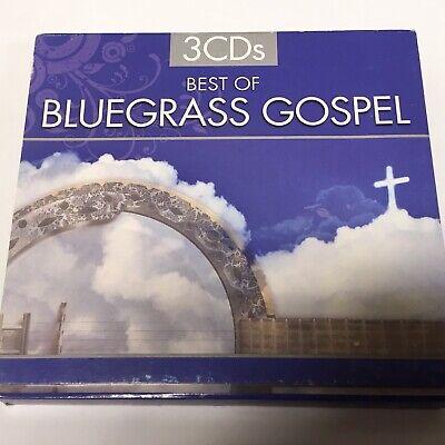 Best Of Bluegrass Gospel 3 CD Box Set NM CANADA RARE Various 2010