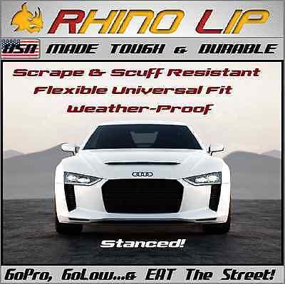 Audi RS A4 S4 B7 TTS TT Euro RhinoLip Flex Chin Lip Splitter Spoiler Add-on