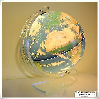 Scan Globe Globus Planet ERDE Erdglobus Designer Leuchtglobus beleuchtet