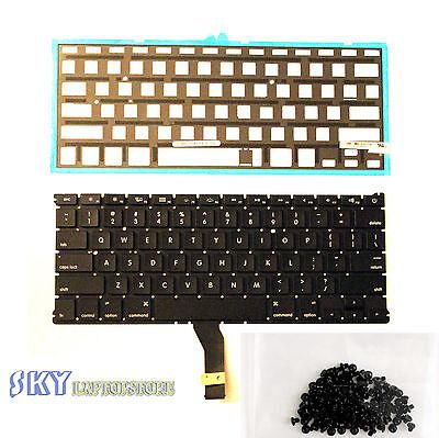 "New Apple Macbook Air A1370 A1465 11"" US Keyboard Backlight 2010-2015 w (Screws)"