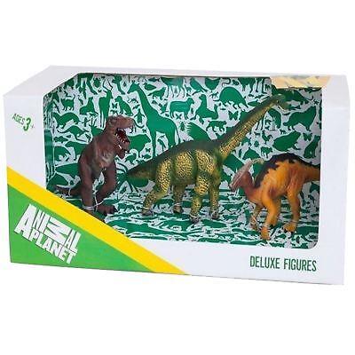Animal Planet Mojo Deluxe 3 Stk. Sortiert Dinosaurier Spielzeug Kopie Figur Set