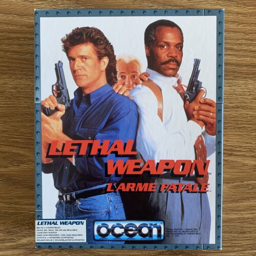 Computer Games - Lethal Weapon L'arme Fatale for IBM PC - Retro Computer Video Game (1992)