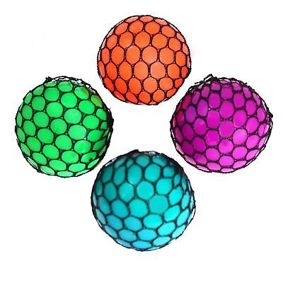 Mesh Stress Ball Squishy Sensory Toy And Stress Reliever For All Ages - Bulk ...