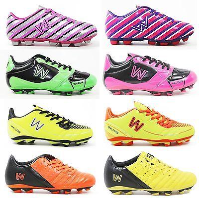 Walstar Girls Soccer Shoe Cleat(Toddler/Little Kid/Big Kid)