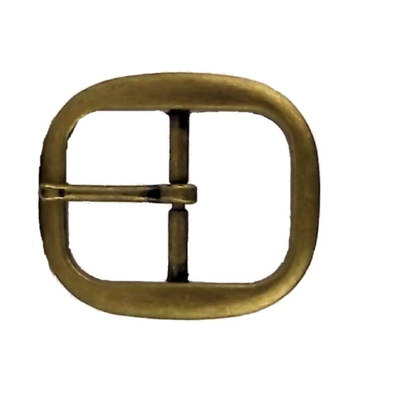 """Belt Buckle Center Bar Antique Brass 1-1/4"""" (3.2 cm) 1565-24"""