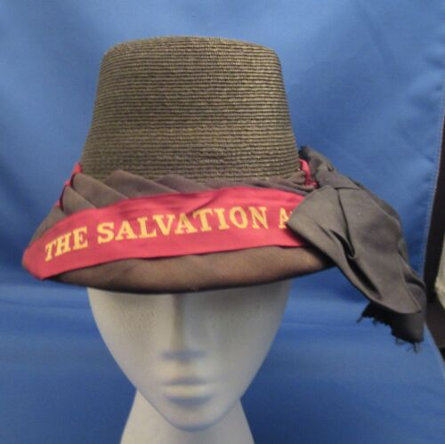 Vintage SALVATION ARMY Hat Bonnet Cap Historical Memorabilia