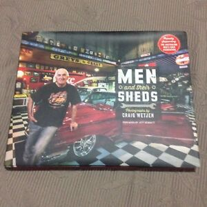 Man And Their Sheds Book Collectable Hotrod Ratrod Custom Classic Sunbury Hume Area Preview