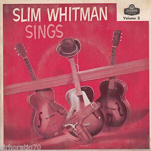 SLIM WHITMAN Sings EP - Volume 2