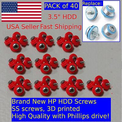 40X HP HDD Mounting Screws 6000 6005 Pro 8000 8100 8200 Elite DC7800 DC7900 SFF comprar usado  Enviando para Brazil