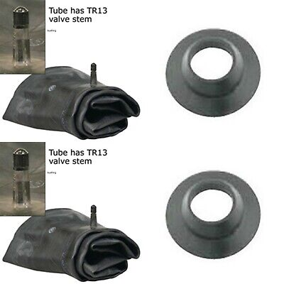 Two Tire Inner Tubes 6-14 6x14 7-14 7x14 Tr-13 Rubber Valve Farm Tractor Imple