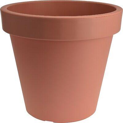 Terracotta Giant Heavy Duty Plastic 80cm Plant Pot Specimen Tree Plant Pot