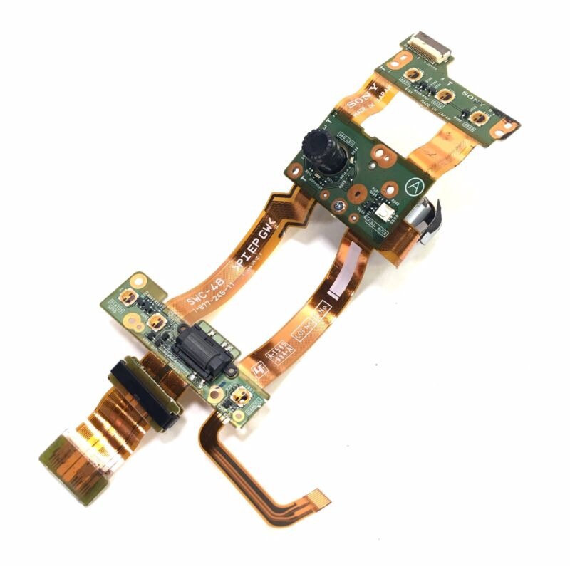 Sony PMW-EX3 EX3 Replacement Part Selector Dial SWC-48 Board Genuine Sony