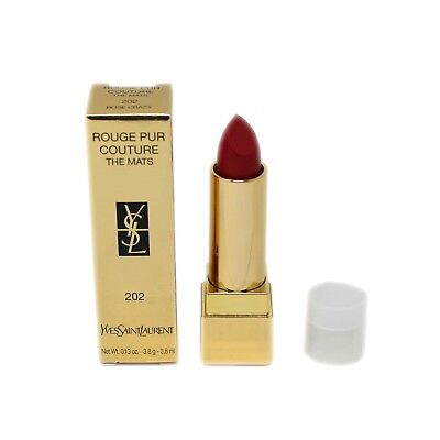 YSL ROUGE PUR COUTURE THE MATS 3.8G #202-ROSE CRAZY