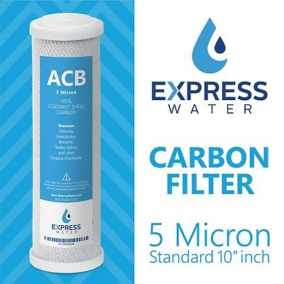 - Activated Carbon Block Water Filter Replacement – 10 inch 5 Micron –  ACB