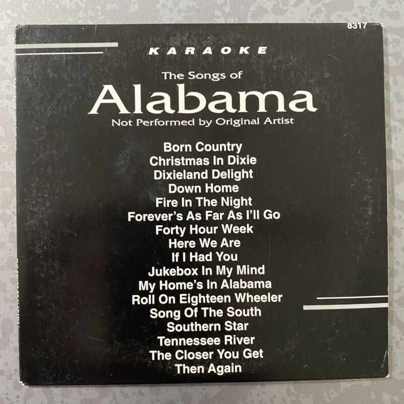 KARAOKE CD+G ALABAMA country music