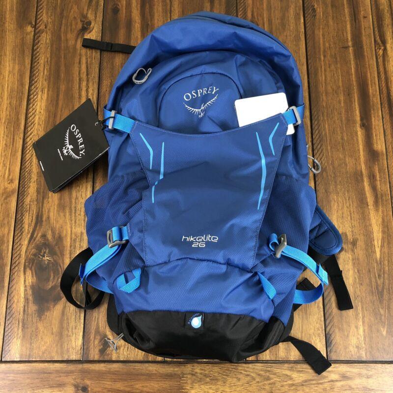 OSPREY HIKELITE 26 HIKING BACKPACK BLUE BACCA BRAND NEW