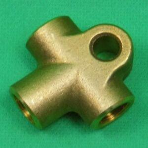 Verteiler T-Stück Adapter für Bremsleitung 4,75 mm F