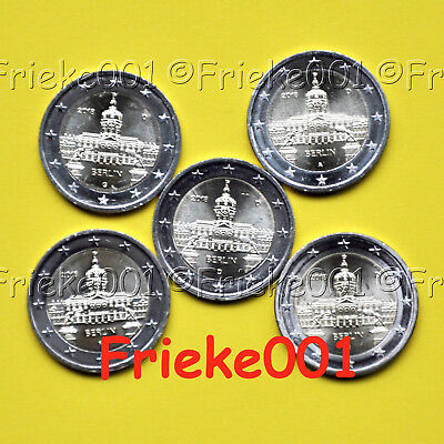 Duitsland - Allemagne - 5x 2 euro 2018 comm.(Charlottenburg)
