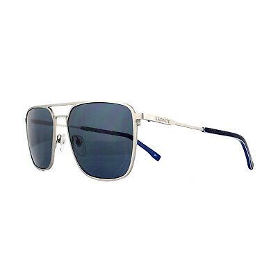 Lacoste Sunglasses L194S 045 Matt Silver Blue