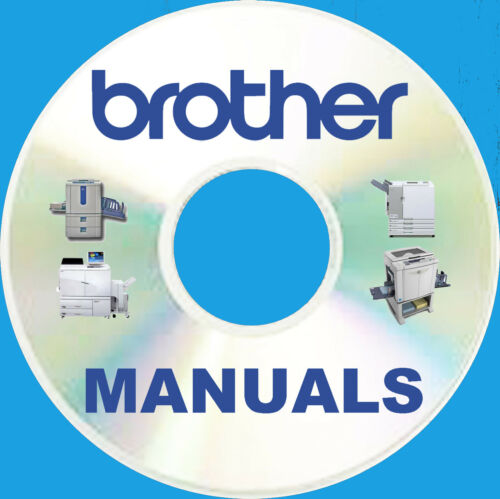 BIGGEST BROTHER mfc Multi FAX Printer Copier SERVICE MANUALS Manual Set BEST DVD