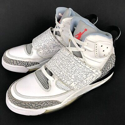 2012 Air Jordan Kids Size 7Y Son of Mars 512242-109 Wolf Grey Retro Youth Shoes